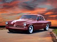 1953 Studebaker Commander Coupe