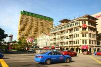 Chinatown Singapore in the Morning - Urban Color