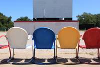 Drive-in Theatre Chairs