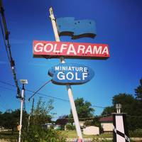 Golfarama Miniature Golf Sign