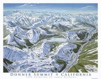 Donner Summit Ski Areas, California