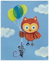 Fly Away Forest Animals - Owl