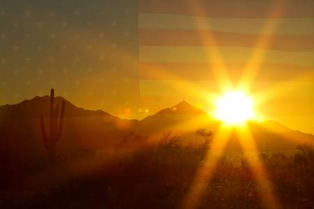 Arizona Sun America The Beautiful