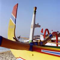Boats on Sindhu Beach