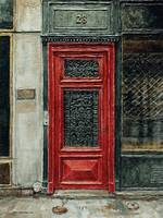 Parisian Door No. 28-2