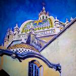 Cathedral of the Arts Balboa Park San Diego by RD Riccoboni