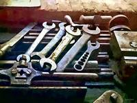 Wrenches in Machine Shop