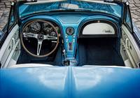 Blue 60s Sting Ray Interior