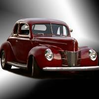 """""""1940 Ford Deluxe Coupe Studio"""" by FatKatPhotography"""