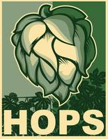 Hops in green