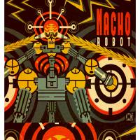 Nacho Robot Art Prints & Posters by Matthew Laznicka