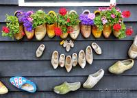Happy Wooden Shoes by Carol Groenen