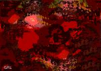 COLOR OF RED II CONTEMPORARY DIGITAL ART