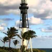 """""""Hillsboro Inlet Lighthouse, Pompano Beach, FL"""" by RoupenBaker"""