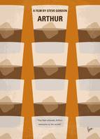 No383 My Arthur minimal movie poster
