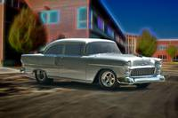 1955 Chevrolet 'Post Coupe' I