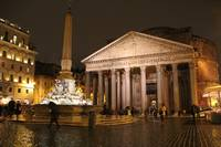 Pantheon at night