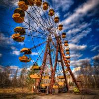 Ferris Wheel -4 Art Prints & Posters by Timm Suess