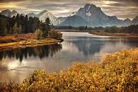 MT. Moran at Teton National Park
