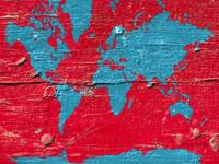 red- blue- paint-world-map-marlene-watson