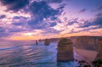 The twelve apostles sunset