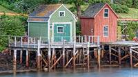 Lowells Cove Shacks