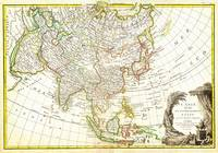 1770 Janvier Map of Asia by Geographicus Asia-janv
