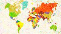 maps-pointilism_World_Map with leaves