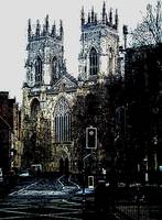 york minster cathederal facade