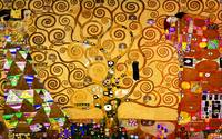 The Tree Of Life by Gustav Klimt Art Painting