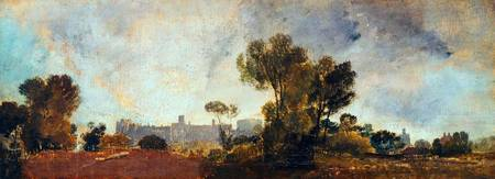 Joseph Mallord William Turner Windsor Castle from