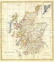 1799 Clement Cruttwell Map of Scotland 1799_- Geog