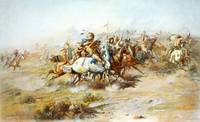 Charles Marion Russell   The Custer Fight 1903