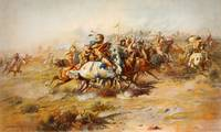 Charles Marion Russell - The Custer Fight (1903) 2