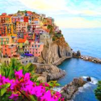 """""""Cinque Terre, Italy 2"""" by motionage"""