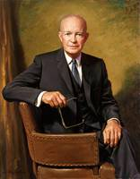 Dwight D. Eisenhower, official Presidential portra