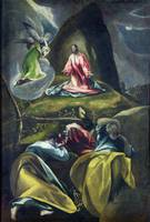 CHRIST IN THE GARDEN OF OLIVES by El Greco