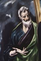 El Greco  - DETAIL OF SAINT ANDREW