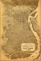 Birdseye view of Philadelphia (1870)