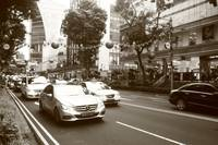 Busy Orchard Road , Street photography Singapore