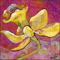 Floral Collage Prints by Art of Shadia