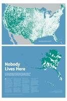 Nobody Lives Here Map Print