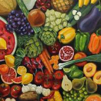 """Fruits and Veggies"" by LindaSMarino"