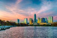 Austin Skyline Sunset D821896