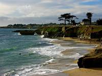 Santa Cruz Beach by Carol Groenen