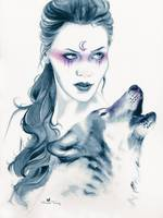 Wolf Totem by Michelle Tracey