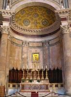Golden Pantheon Altar by Carol Groenen
