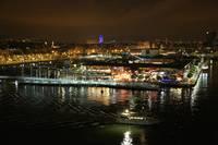 Barcelona at Night by Carol Groenen