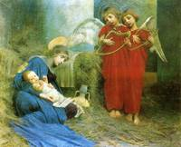 Marianne Stokes - Angels Entertaining the  Holy Ch