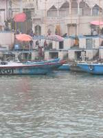 Boats and umbrellas